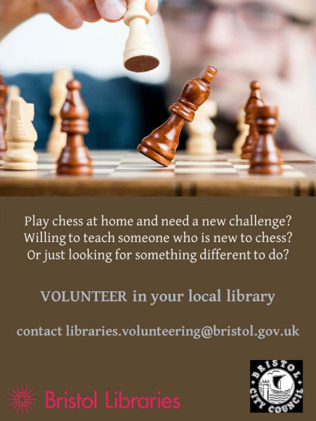 Hillfields Library Chess Club Leader