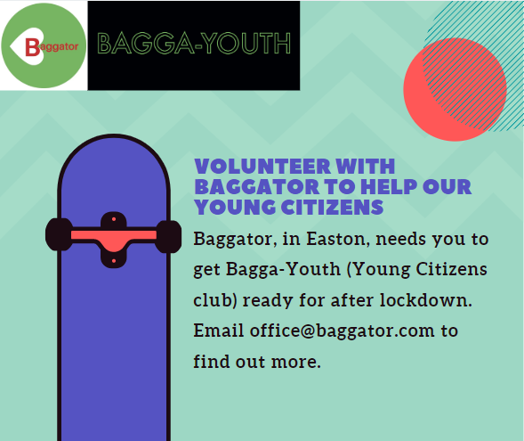 Volunteer with Baggator to Help our Young Citizens